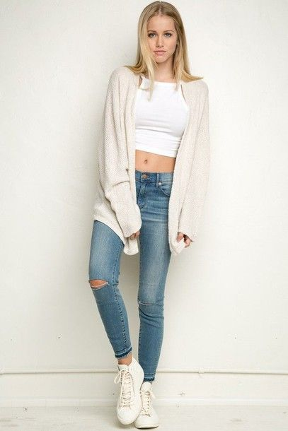 Cute Outfits With Jeans Jean Outfits Cute Jeans Tumblr Outfits Spring Outfits