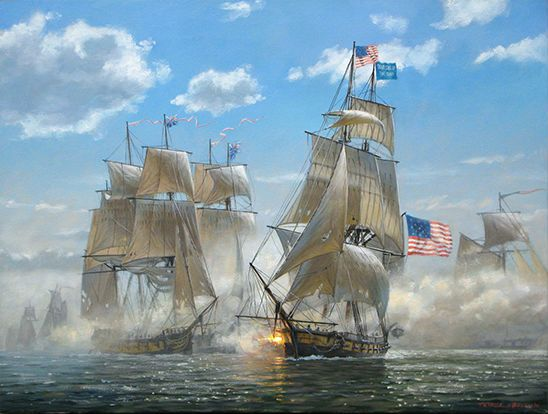 The Battle of Lake Erie, War of 1812