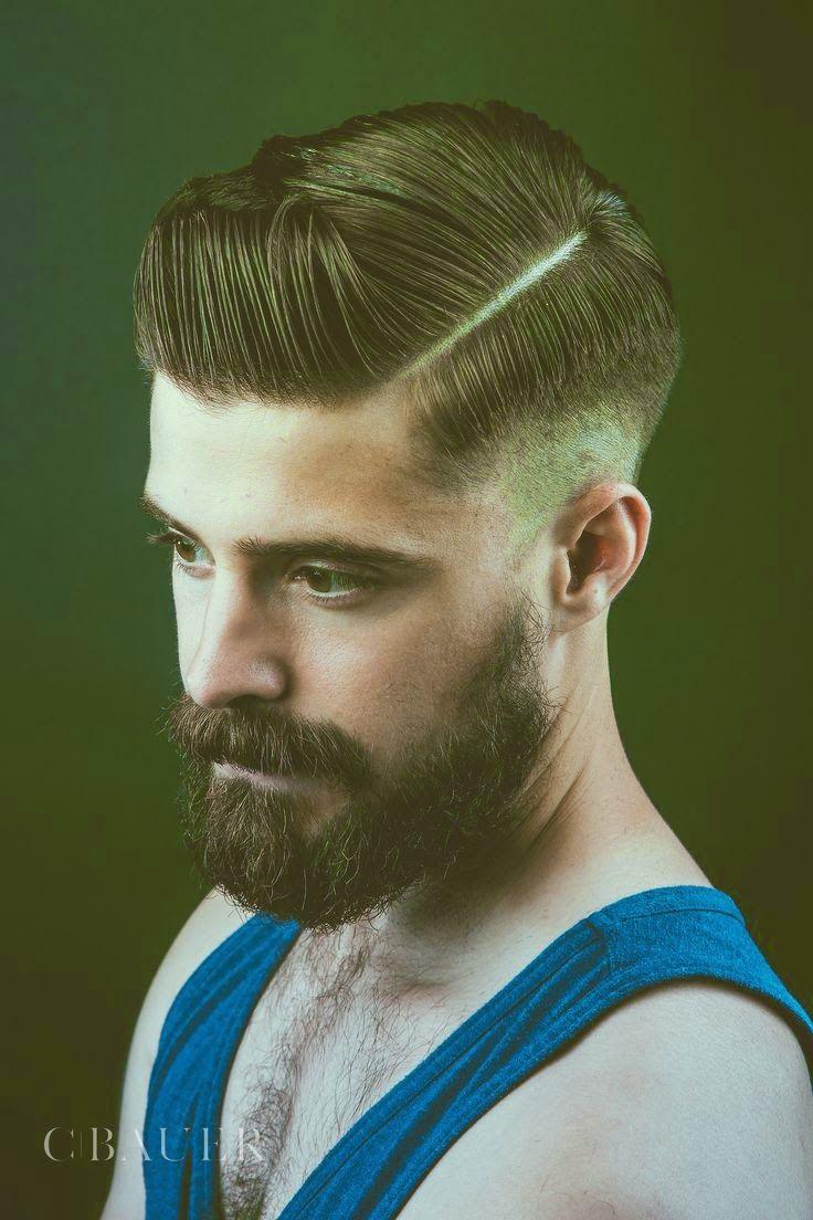 5 Model Rambut Pria Terbaru 2014 Classic Mens Hairstyles Beard No Mustache Mens Hairstyles