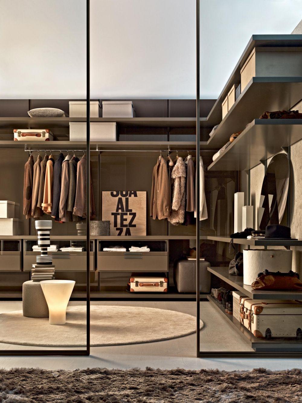 Gliss Walk-in Walk-in closets - Molteni  Walk in closet design