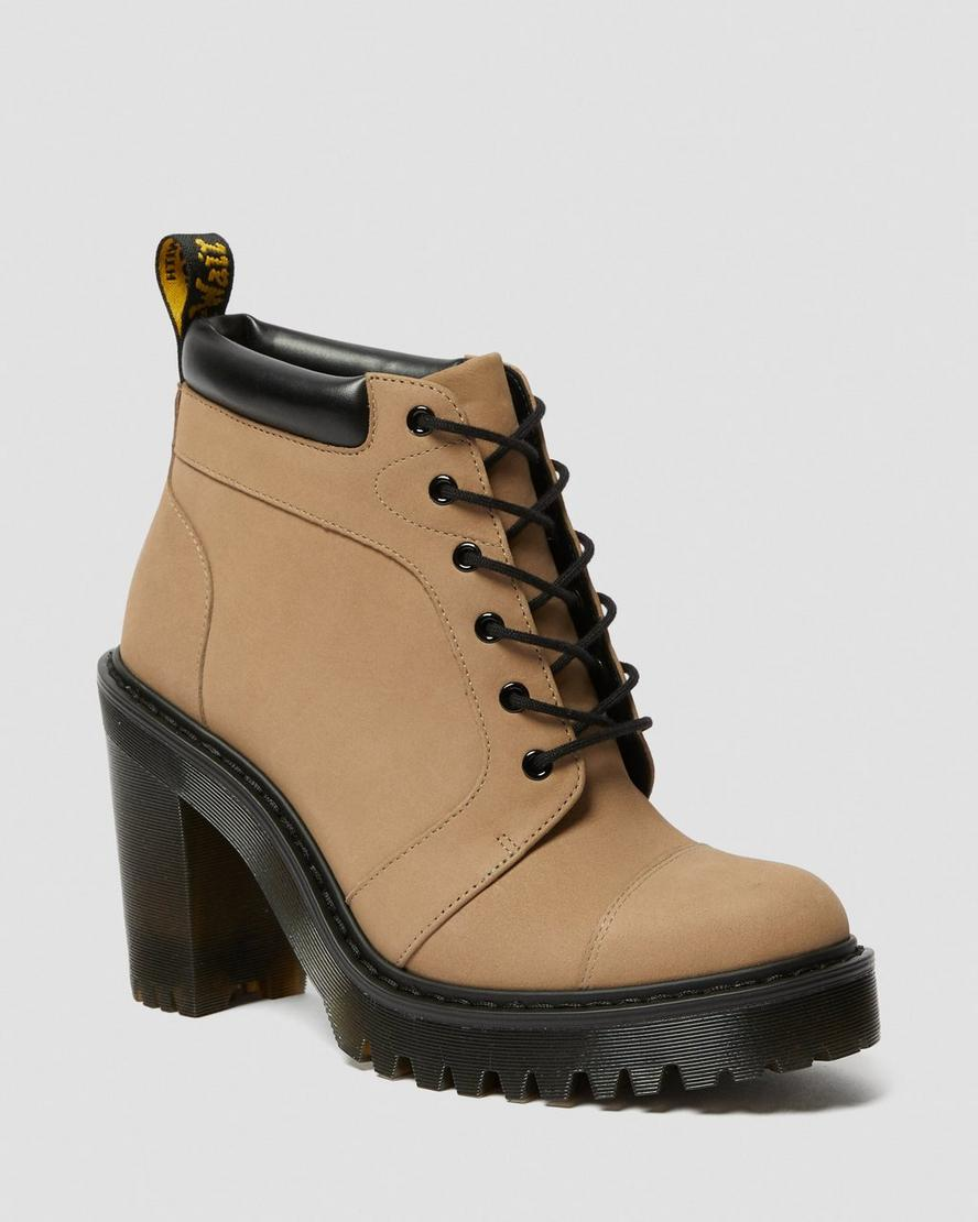 Dr martens averil women's suede heeled ankle boots | Boots