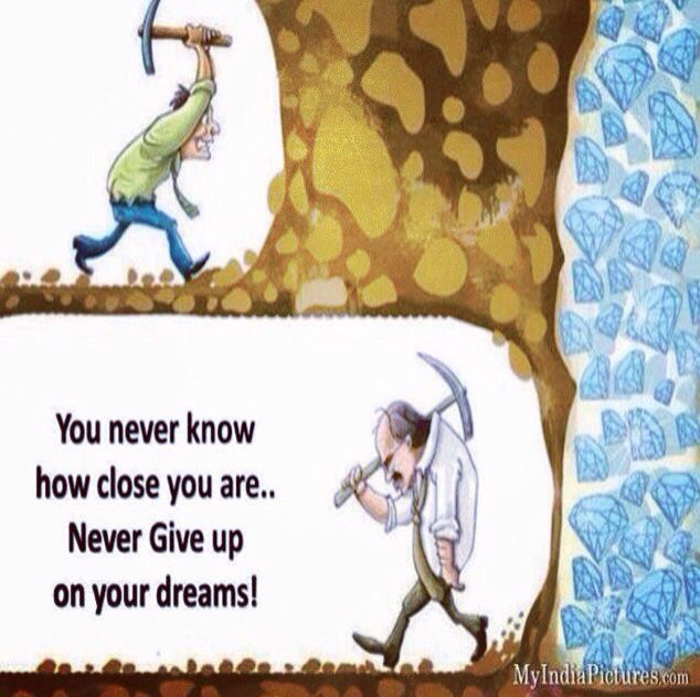 """Persistence Motivational Quotes Cartoon: """"Persistence Is The Shortest Path To Success!"""" Charles"""