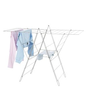 Frost Drying Rack By Ikea The Whopping 20 Yards Of Clothesline On This Steel Could Easily Accommodate An Entire Load Laundry