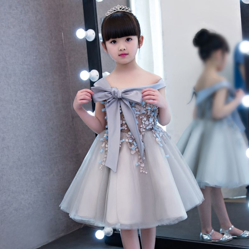Günstige 2017 neue Koreanische Nette Kinder Mädchen Bogen Prinzessin ...