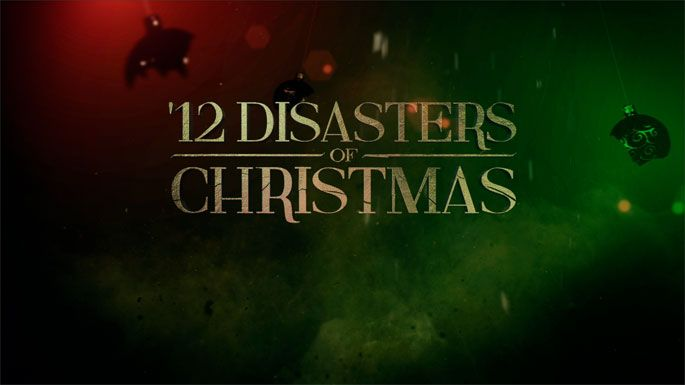 12 Disasters Of Christmas.12 Disasters Of Christmas Starring One Ed Quinn The