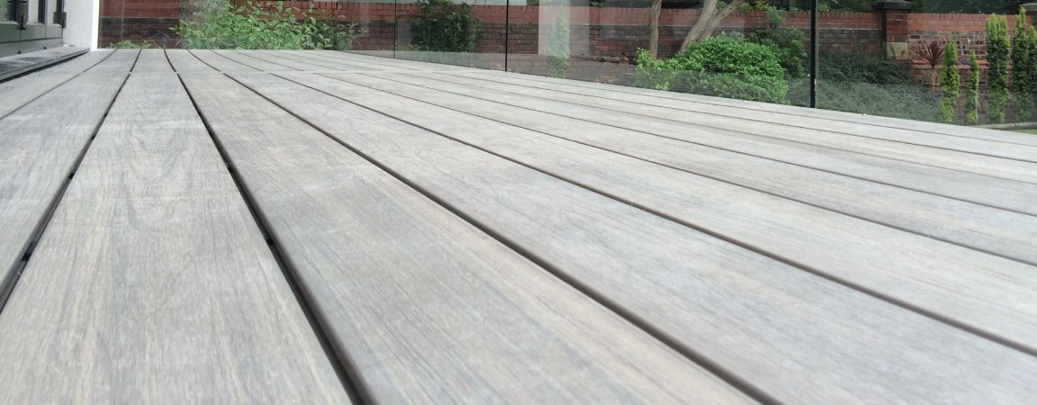 Composite wood decking edging systemstockist of plastic for Fiberon decking cost per square foot