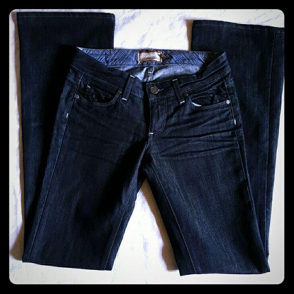 Paige Jeans Dark Blue Premium Jeans Size 24 Paige Jeans Dark Blue Premium Boot Cut Jeans. Laurel Canyon. Size 24 Paige Jeans Jeans Boot Cut