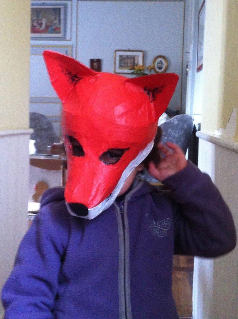 fabriquer des masques en papier (pas) mâché…   toysfab   enfants