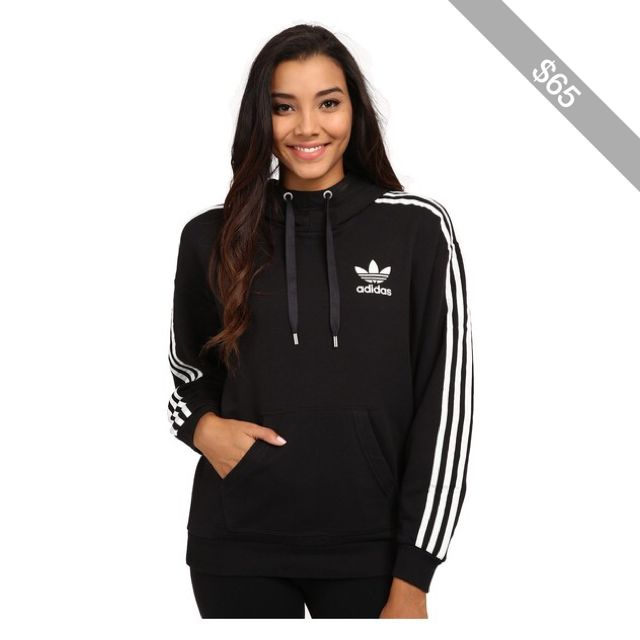 adidas Originals 3 Stripes Hoodie Women's Sweatshirt | This
