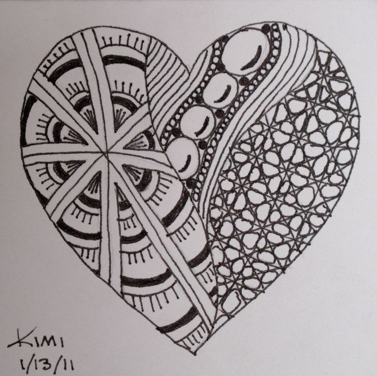 Easy Doodle Art Designs : Idea zentangle alphabet letters your name