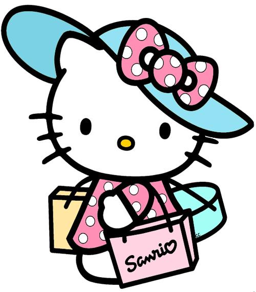 hello kitty clip art images cartoon clip art happy hello kitty rh pinterest com