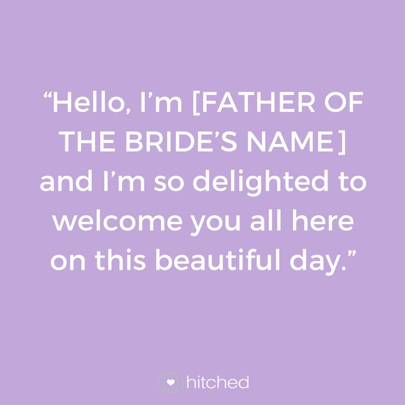 Wedding Speech Introduction Examples: How To Begin Your