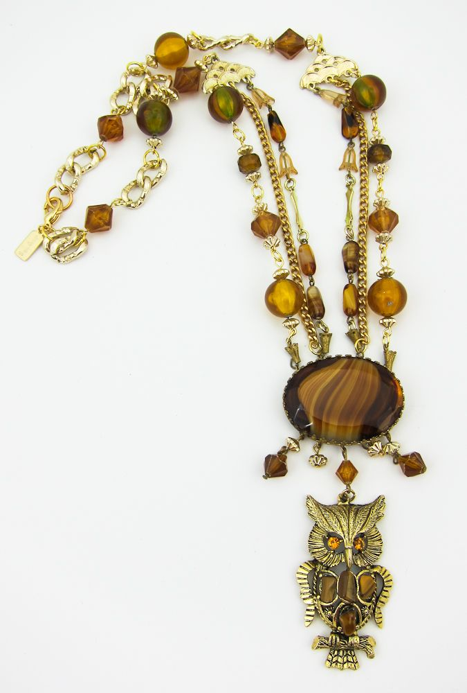 $96.00 Wise Old Owl Necklace