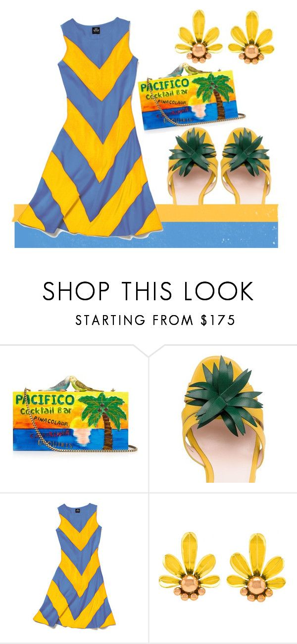 """""""Just Another Day in Paradise"""" by engleann ❤ liked on Polyvore featuring Sarah's Bag, Kate Spade and Slater Zorn"""