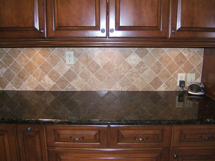 Image result for backsplash tile to go with black pearl ... on Backsplash For Maple Cabinets And Black Granite  id=17480
