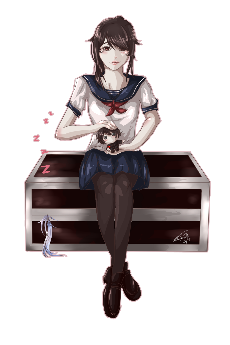 Yandere Simulator: How to kidnap a Rival by Carelle-chan