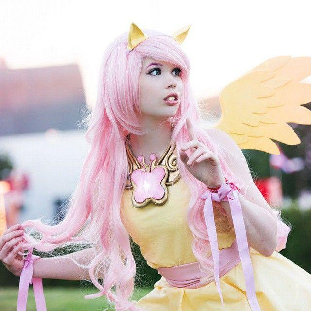 Fluttershy cosplay porn