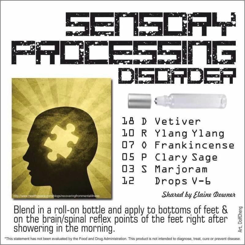 The Essence Of Sensory Processing >> Essential Oil Blend For Spd Sensory Processing Disorder Young