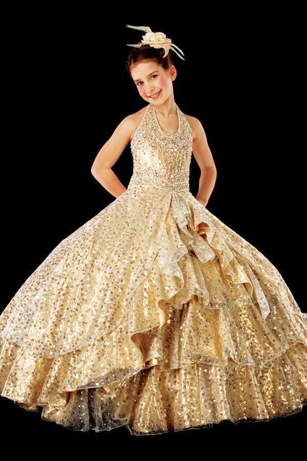 0dca77472 Beauty Pageants Dresses with Stylish Designs 2013