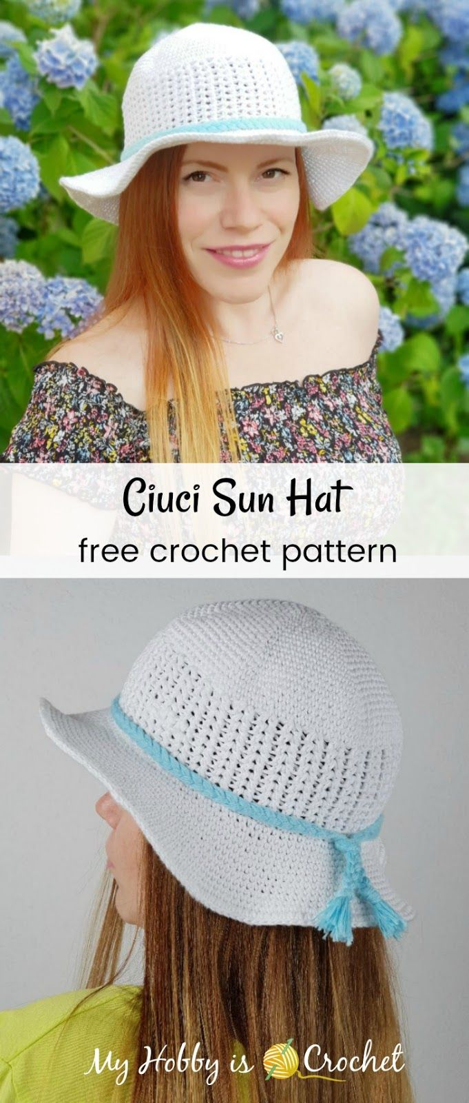 Ciuci Sun Hat - Free Crochet Pattern | Pinterest | Gorro tejido ...
