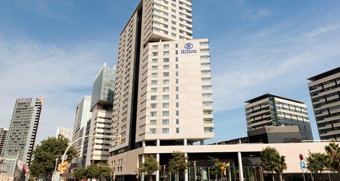 Hilton Diagonal Mar Barcelona Hotel Exterior