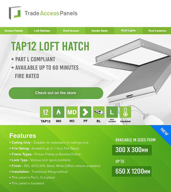 Bespoke Made To Measure Loft Hatch With Free Delivery To Mainland Uk Access Panels Loft Hatch And Ladder Loft