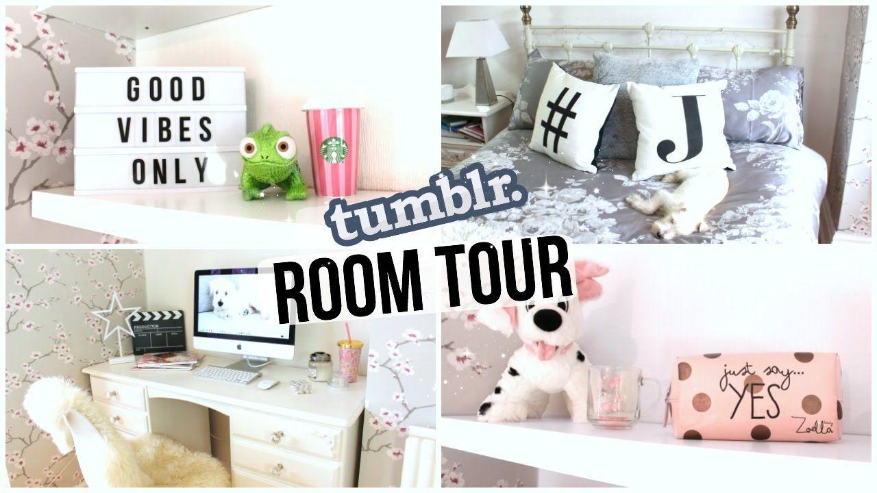 Room Tour 2016 Tumblr Inspired Room Tour Room Tours