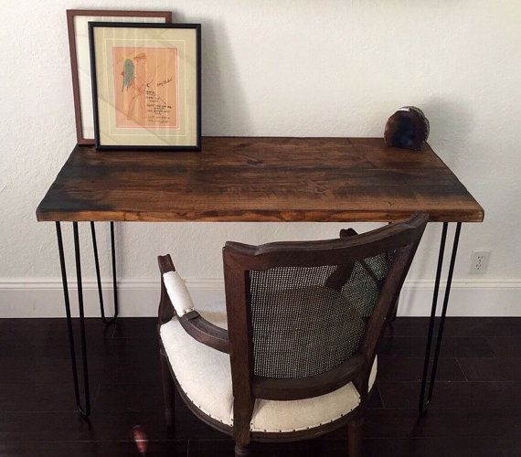 In Stock Distressed Wood Desk Or Table Distressed Wood Desk
