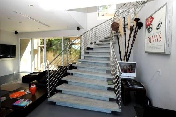 Красивые лестницы на второй этаж в частном доме – фото ...