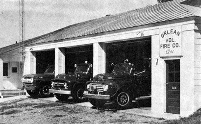 one week after hurricane agnes in june of 1972 the need for a fire department in the orlean area became a fire rescue fire fire trucks pinterest