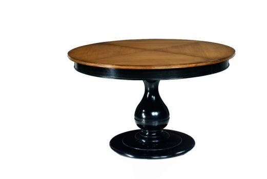 Honore Black Pedestal Dining Table Dining Table French Dining