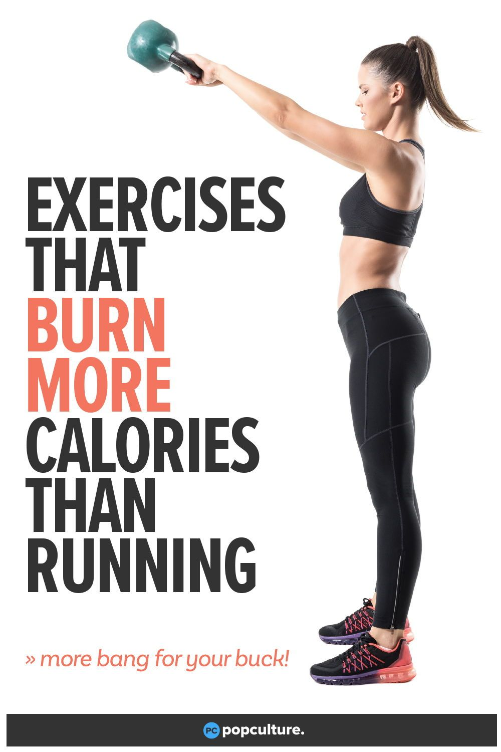 6 effective ways to work up a solid calorie burn other than hitting the road for a run. Check out: Exercises That Burn More Calories Than Running