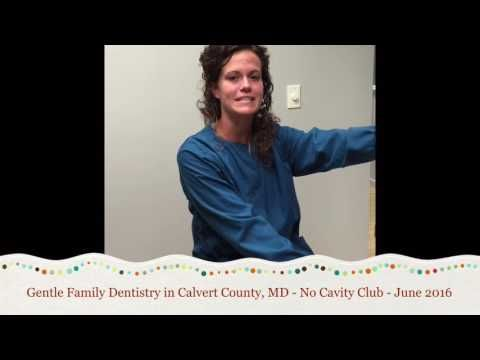 Gentle Family Dentistry - No Cavity Club Winners - June 2016 - YouTube #nocavityclub #calvertcountydentist
