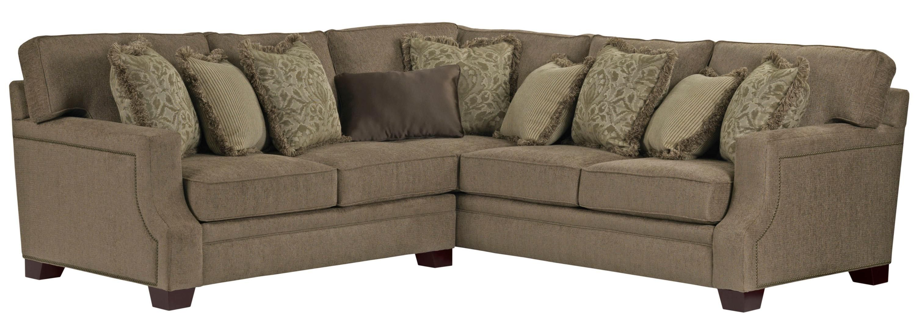 Broyhill Furniture Kayley 2 Piece Corner Sectional Conlin S