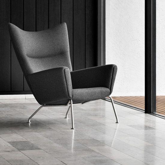 Wing Chair By Hans J. Designer: Hans J. Wegner Manufactured Under License  In Denmark By Carl Hansen U0026 Son./ The Wegner Wing Chair Wa