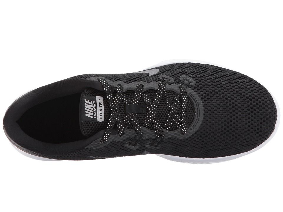 b56916574e2b4 Nike Flex Trainer 7 Metallic Women s Shoes Black Metallic Dark Grey ...