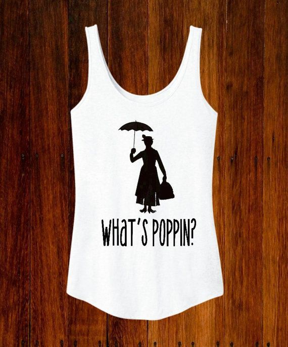 Disney Mary Poppins Inspired Women s Tank Disney by TheBizziB - bright  shirts for guys 64aa314f1
