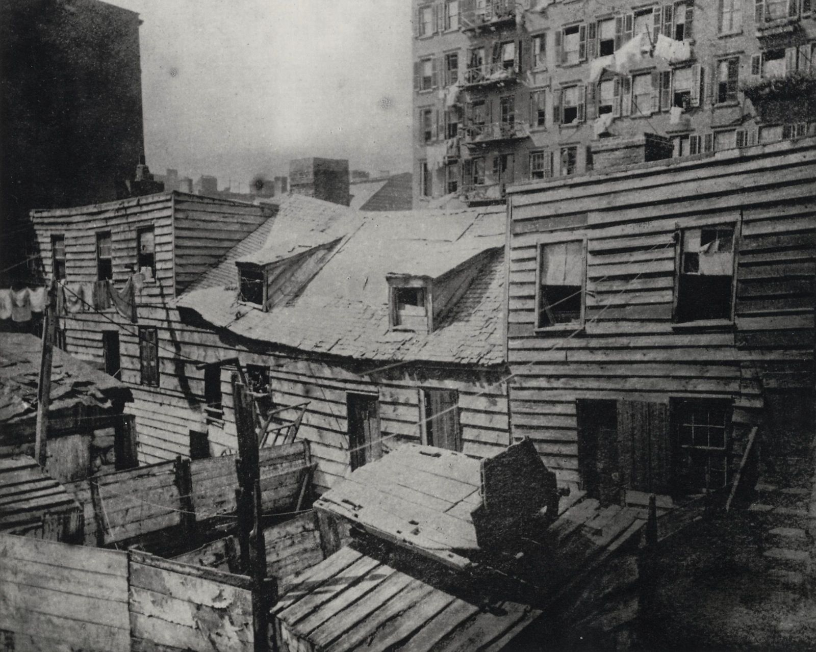 Slum Life In New York City During The Nineteenth Century S