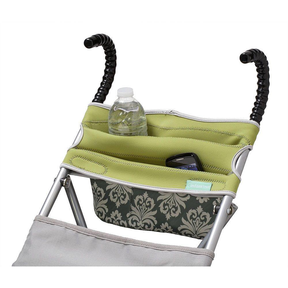 Infantino Stretch Umbrella Stroller Organizer Green