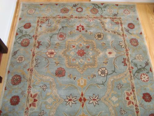 Pottery Barn Leslie Persian Rug 5 X 8 New Very Pretty