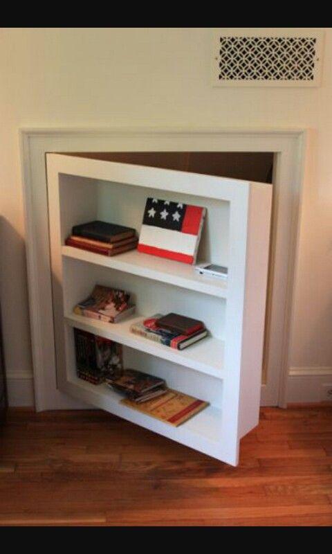 Secret Door Bookshelf To Go Under The Stairs Attic Bedroom Designs Room Makeover Remodel Bedroom