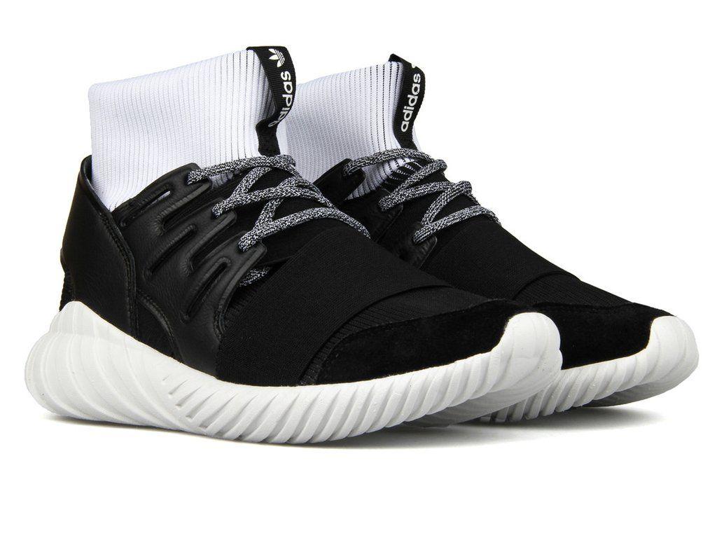 adidas tubulare doom nucleo nero / calzature scarpe bianche pinterest