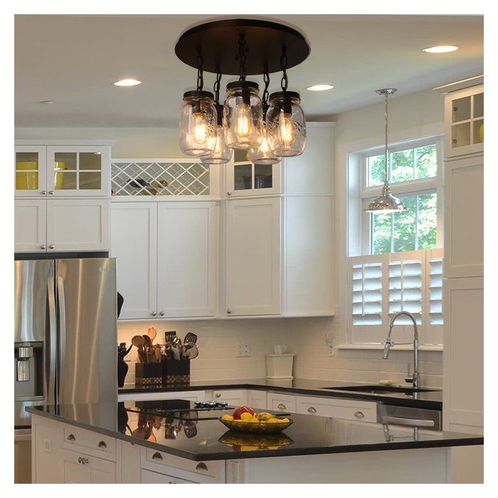 Armande 5-Light Cluster Pendant | Countertops, Kitchen ...