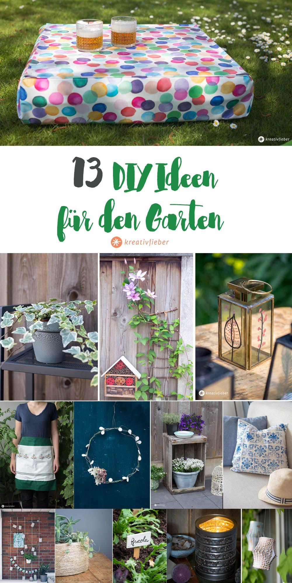 13 Diy Ideen Fur Den Garten Garten Ideen Diy Ubertopf Garten Deko