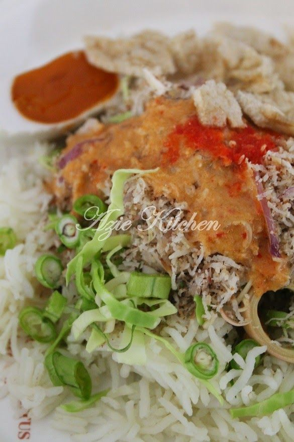 Azie Kitchen Nasi Kerabu Kelantan Dan Ayam Percik Dr Nana Resep Masakan Malaysia Resep Masakan Asia Resep Makanan