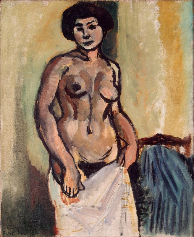 Henri matisse nude and