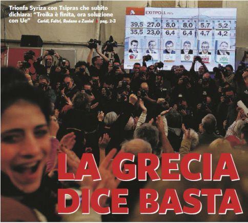 Informazione Contro!: Tsipras, ora è la Grecia che spaventa l'Europa