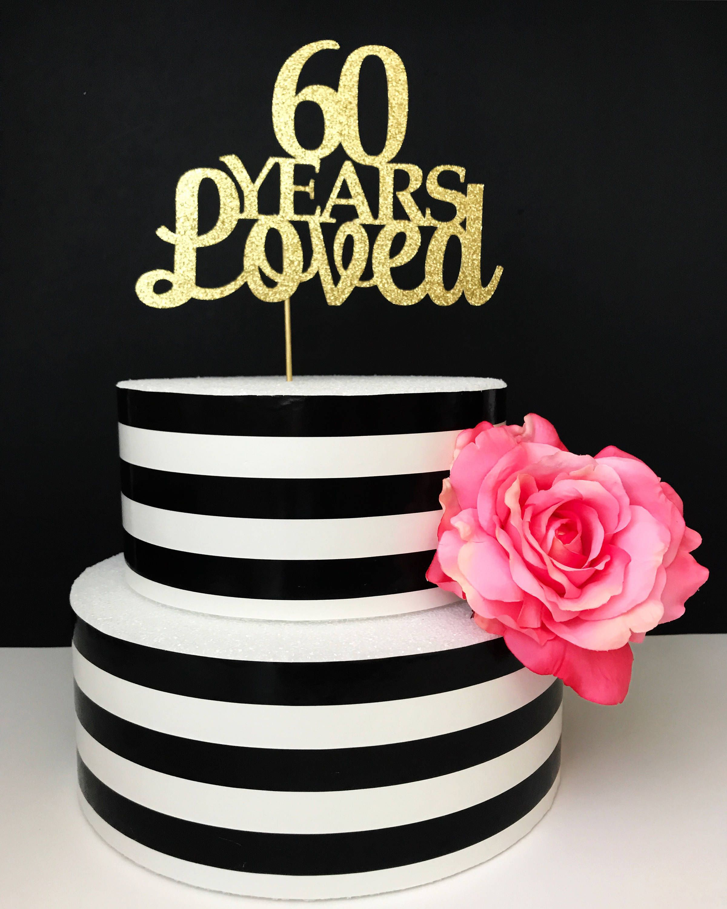 48++ 60th birthday cake toppers ideas in 2021