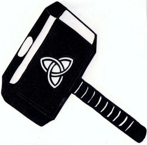 thor hammer silhouette google search silhouette