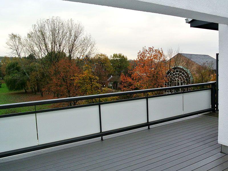 Balkonboden Aus Premium Wpc Holz Kunststoff Bildschoner